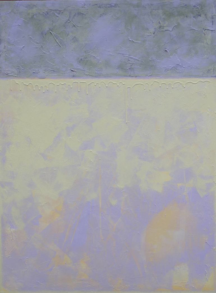 Painting Violet and Grey by Gordon Sellen