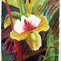 Watercolor Jungle Beauty  by Gary Eleinko