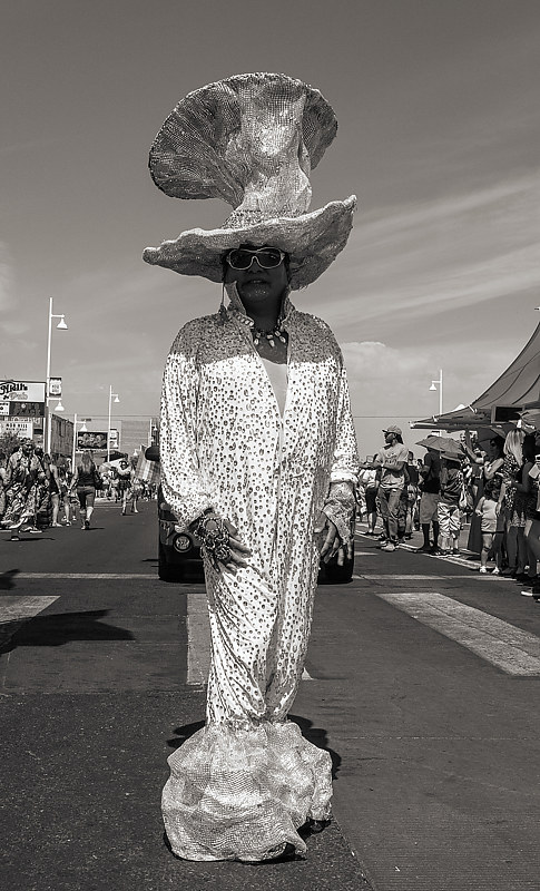 Raindrops and Poses, Gay Pride Parade, Albuquerque, NM 2018 by Jim Holbrook