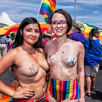Untitled, Gay Pride Parade, Albuquerque, NM 2018 by Jim Holbrook