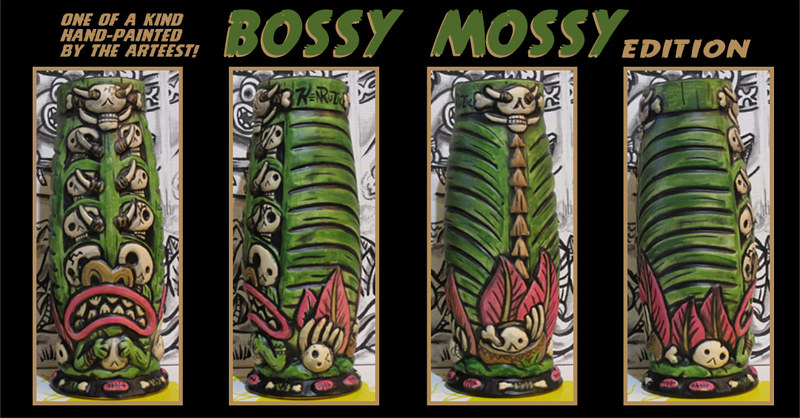 Bossy Mossy edition by Kenneth M Ruzic