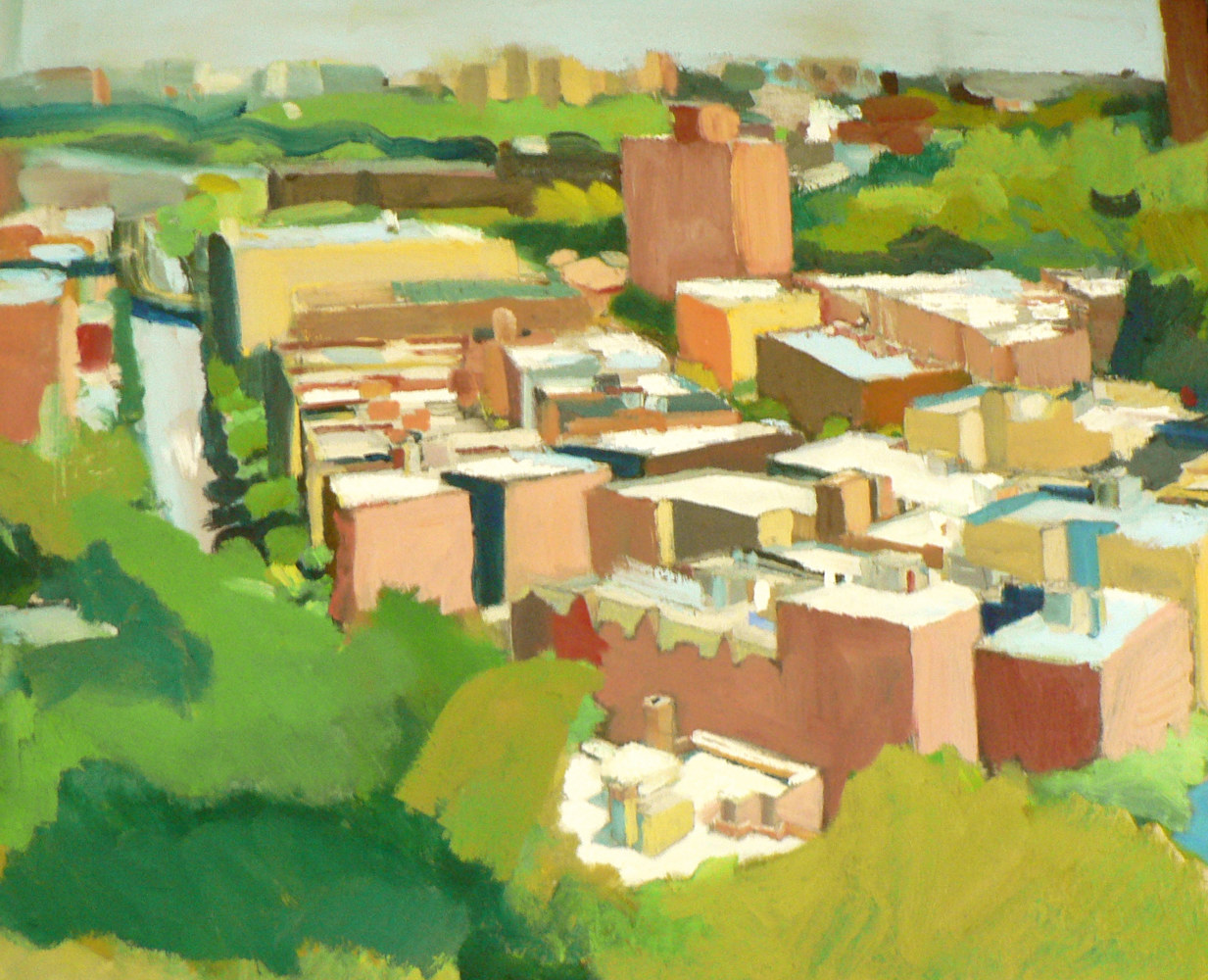 Studio Window View Northeast by Michael louis Johnson