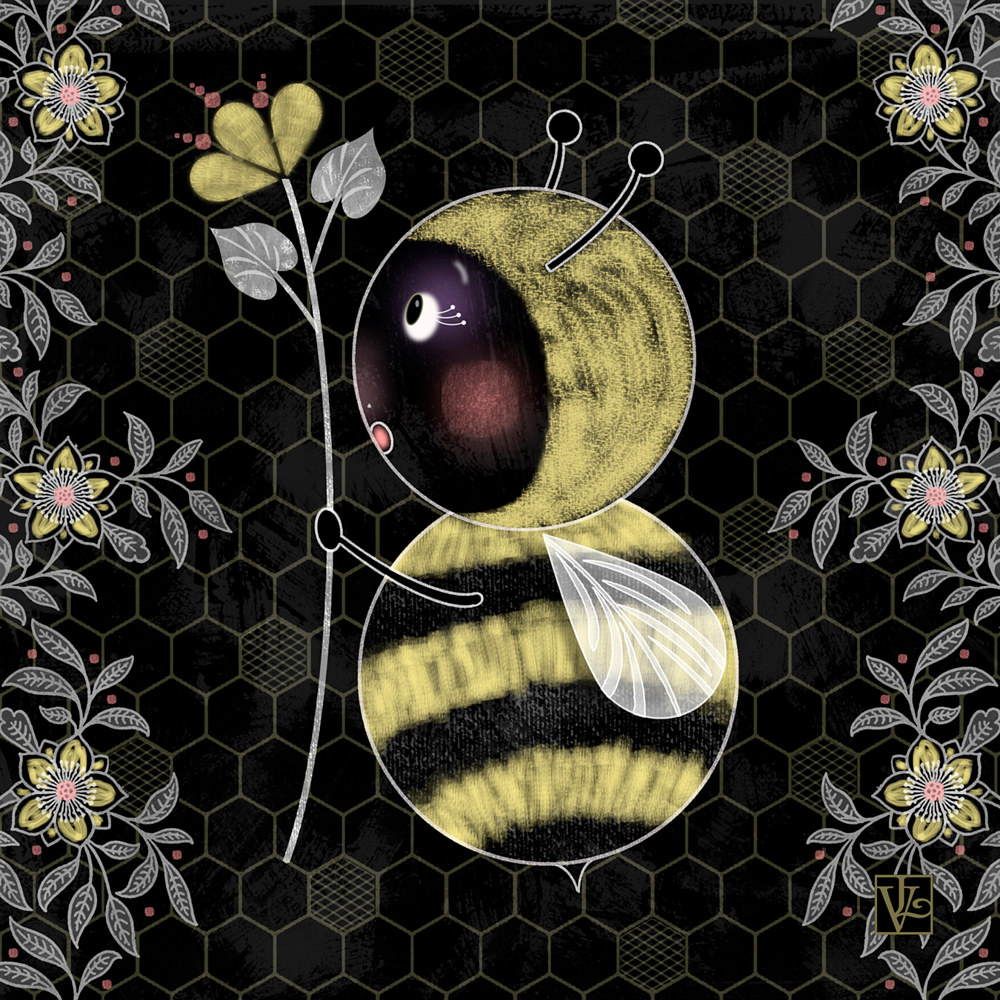 B is for  Bumble Bee  by Valerie Lesiak