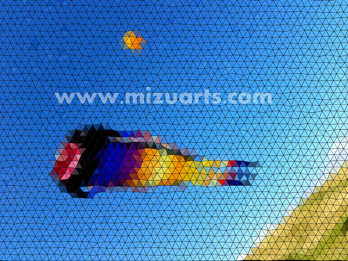 Kite Mosaic  by Isaac Carpenter