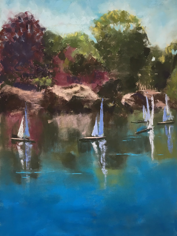 Redd's Pond Regatta by Barbara Naeser