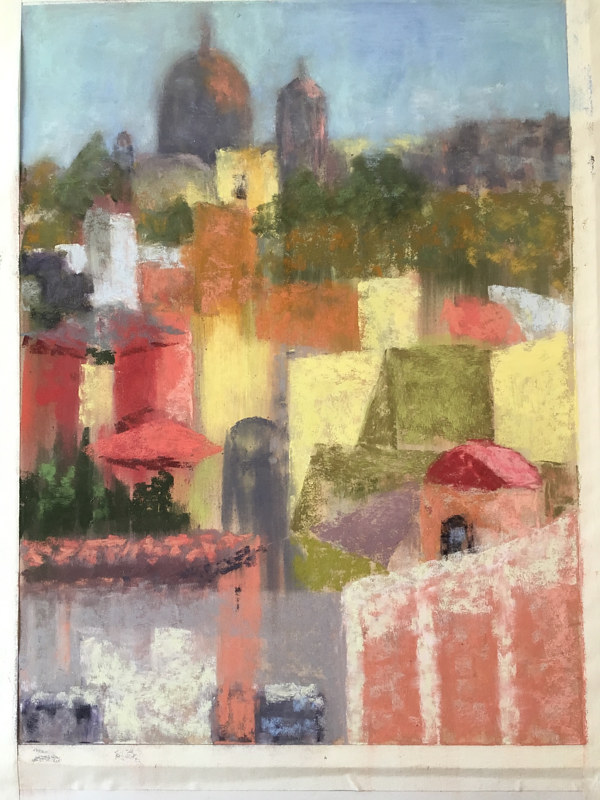 San Miguel Rooftops by Barbara Naeser