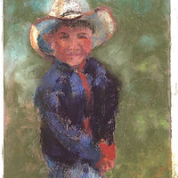 Little Cowboy by Barbara Naeser