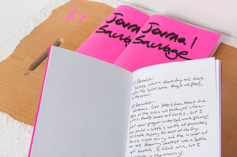 Print Journal Sauvage by Magali Hebert-Huot