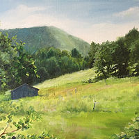 Oil painting Vermont Summer by Betty Ann  Medeiros