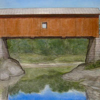 The Slaughterhouse Covered Bridge by Jess Kilgore