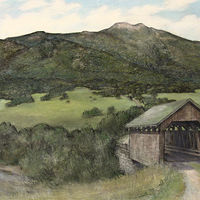 The Sayer Covered Bridge by Jess Kilgore