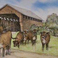 The Gates Covered Bridge by Jess Kilgore