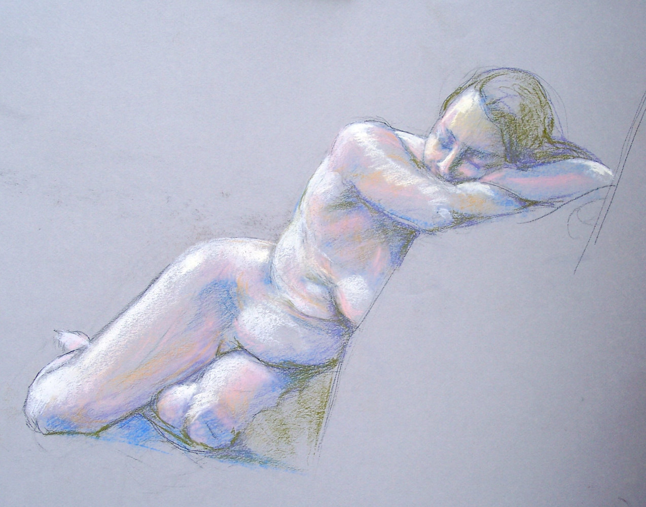 Sleeping Nude  by Don Moore