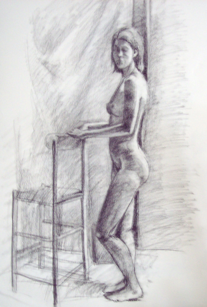 Standing figure by Don Moore