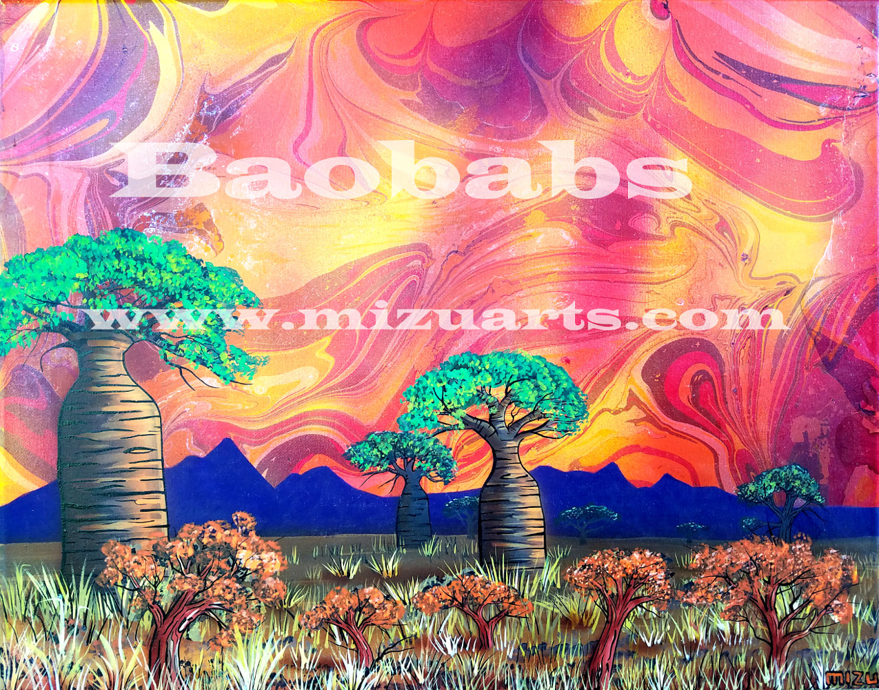 Baobabs  by Isaac Carpenter