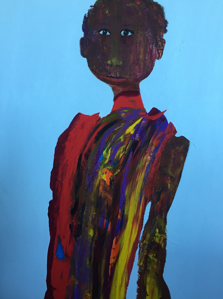 Title : Person of colours  by Gaetane Cummings