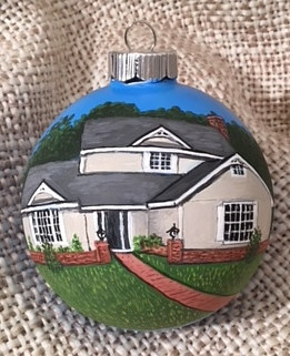 665 Waterwood Ornament by Susan Lynch