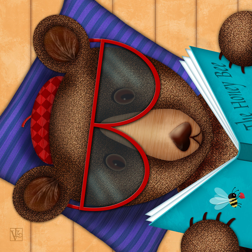 B is for Brown Bear by Valerie Lesiak