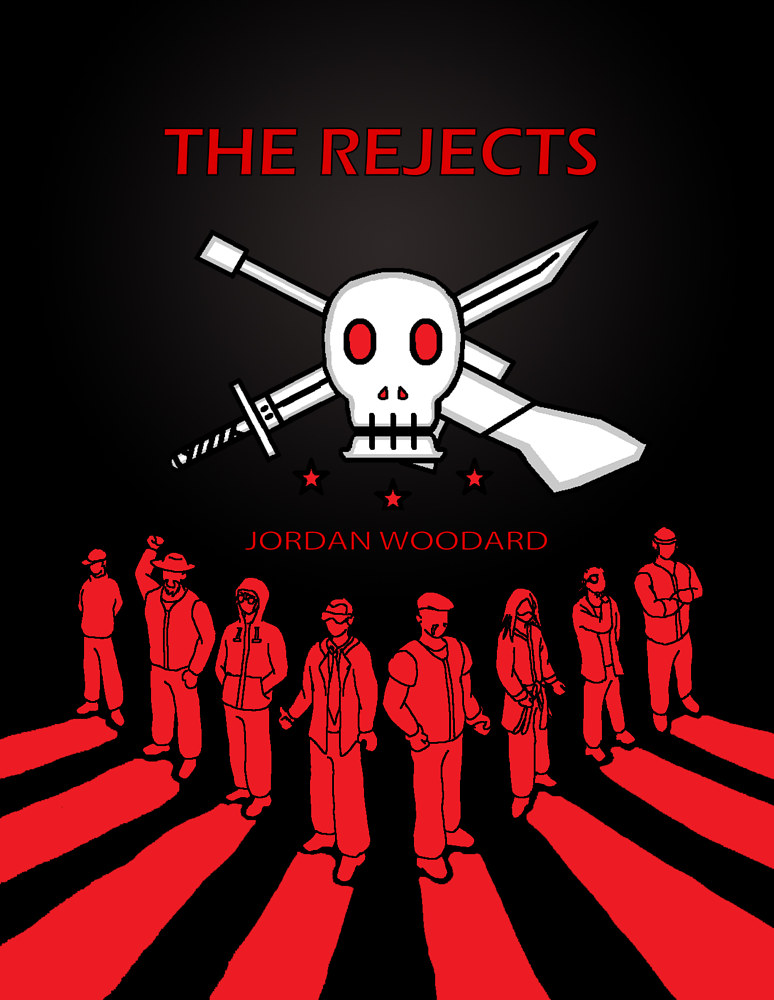 The Rejects - Cover Page by Jordan Woodard