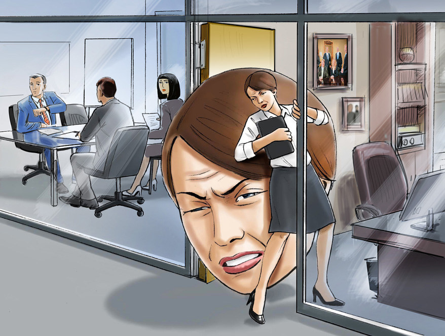Office Migraine by Allen Wittert