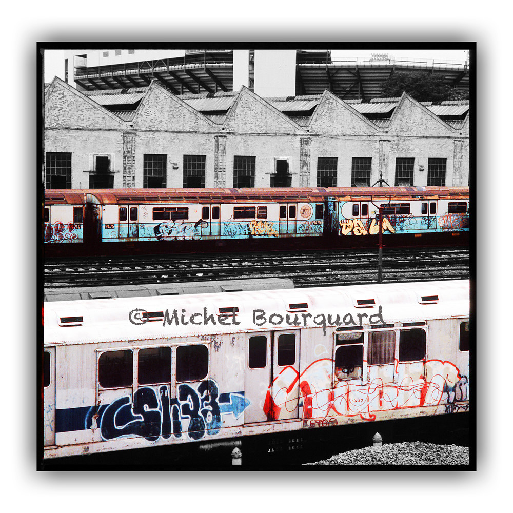 NewYork_Coloring the subway by Michel Bourquard