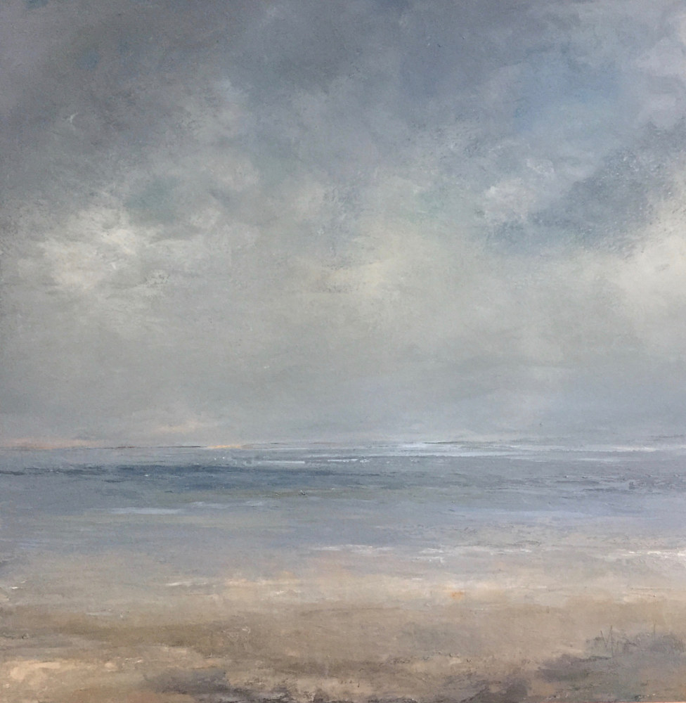 Oil painting Ebb Tide @ Cortile Gallery, Provincetown  by Nella Lush