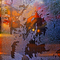 """Scratched Glass Door II"" by Hunter Madsen"