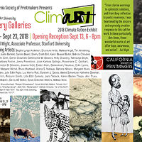 Print ClimART 2018 Climate Action Exhibit in San Francisco by Cathie Crawford