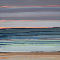 Oil painting Manzanita Stripe 7 by Shawn Demarest