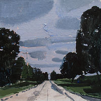 Acrylic painting September Road by Harry Stooshinoff
