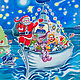 DSCF0269 THE SANTA SHIP by Penny Prior