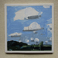 Acrylic painting Sky Watch by Harry Stooshinoff