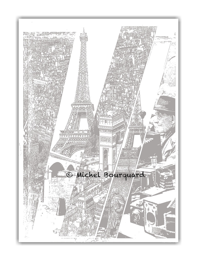 A Slice of Paris by Michel Bourquard