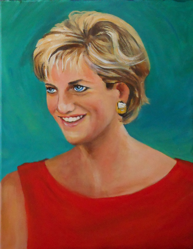 Princes Diana by Jeanne Lloyd