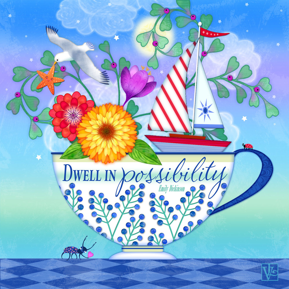 Dwell in Possibility by Valerie Lesiak