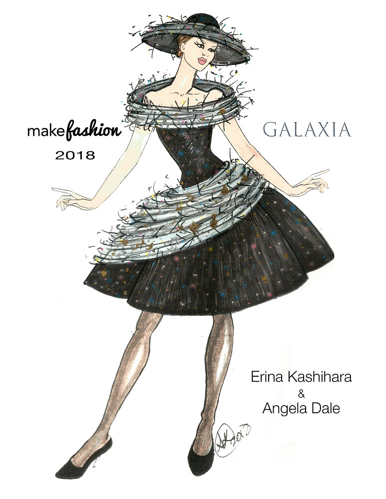Concept Sketch for Galaxia by Angela Dale