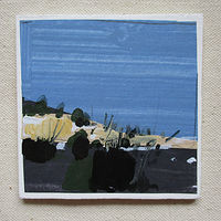 Acrylic painting September Blue by Harry Stooshinoff
