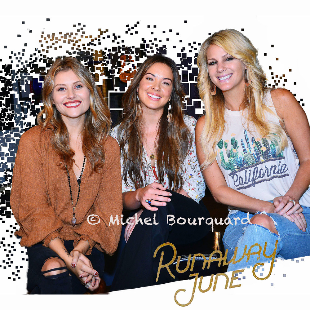 Runaway June at ACM cover  by Michel Bourquard