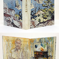 Casson's First Love (Altered Book) by Linda Finn