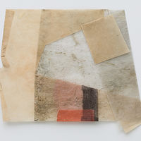 Mixed-media artwork Residue #2 by Marilyn Joyce