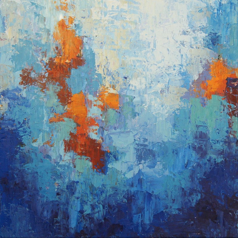 CobaltBlue_30x30 by Adam Thomas