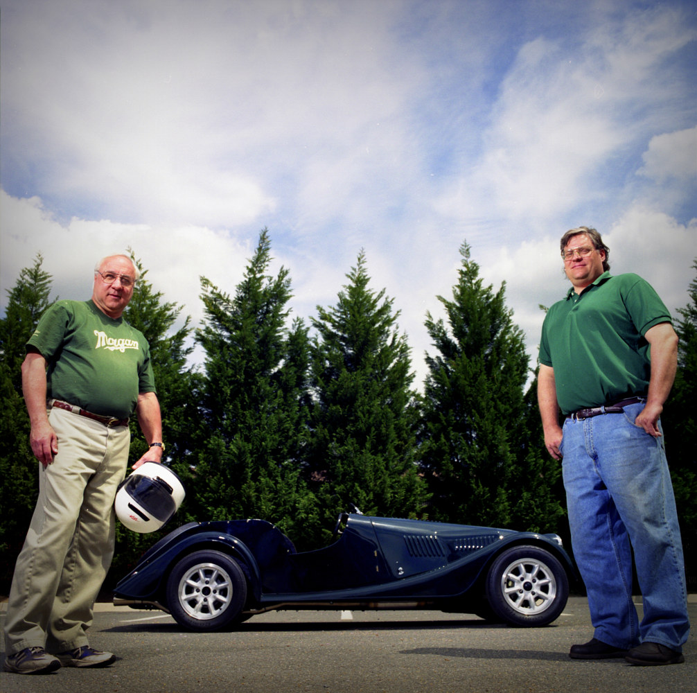 Larry and Rich with Rally Morgan by Stuart Diekmeyer