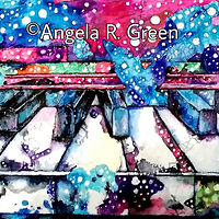 Acrylic painting Sweet Melodies by Angela  Green