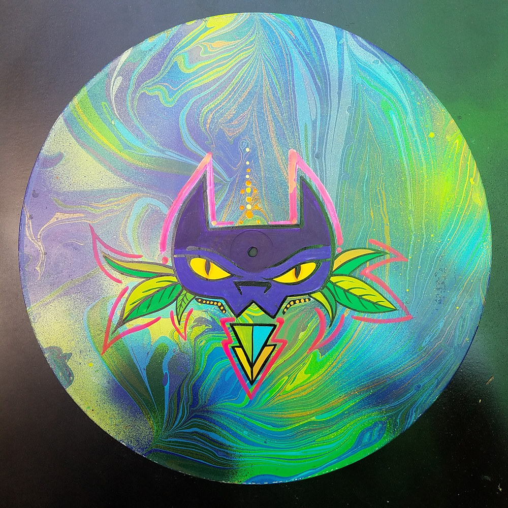 Painting Catnip - Collab with Phaero  by Isaac Carpenter