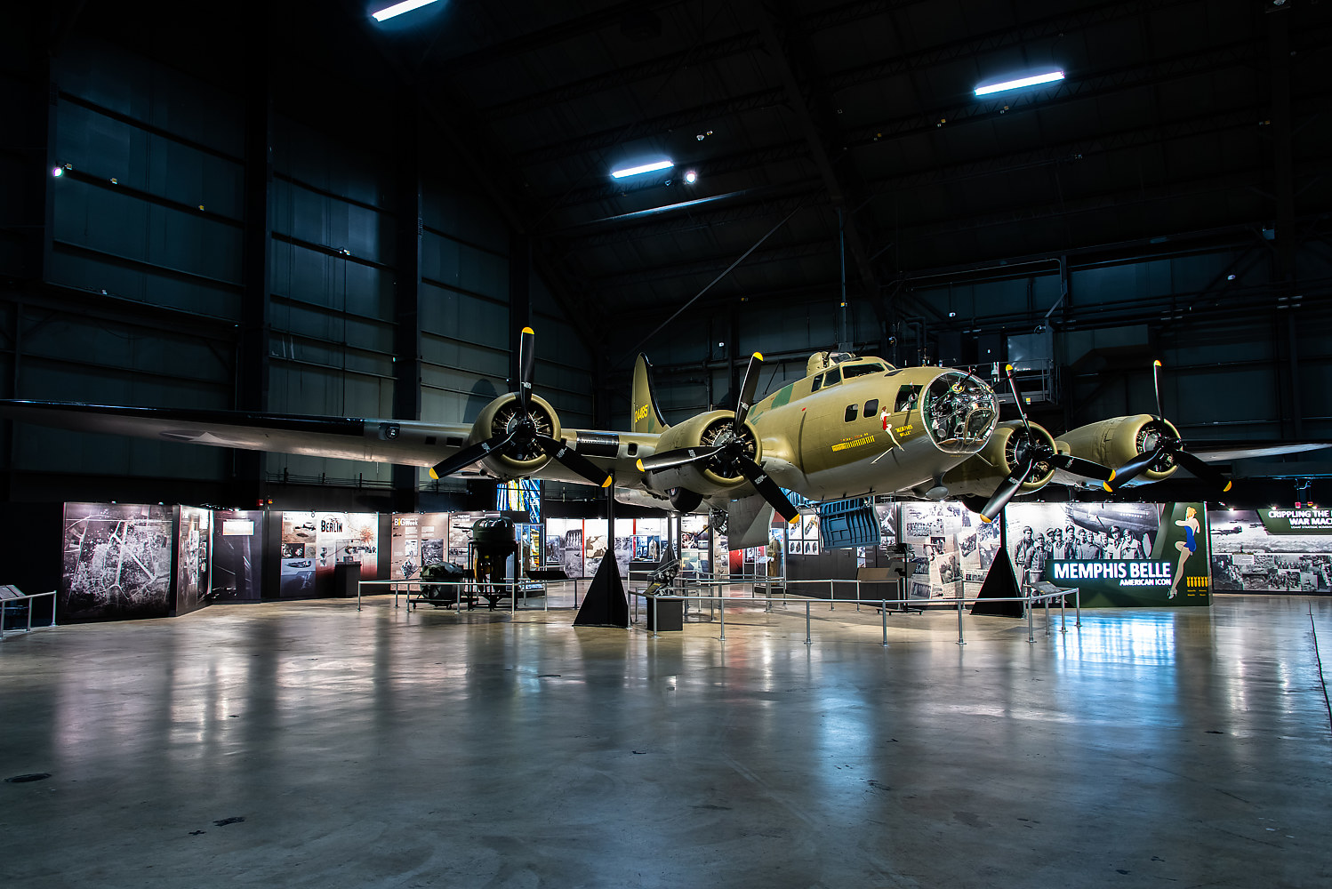 MEMPHIS BELLE, Boeing B-17 F by Andy Humphrey