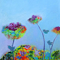Oil painting Smell of Summer by Svetlana Barker