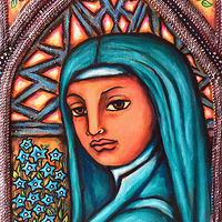 Forget Me Not: St. Therese de Liseaux by Emily K. Grieves
