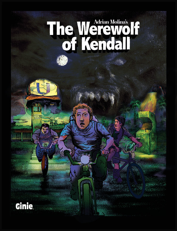The Werewolf of Kendall by Adrian Molina