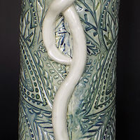 Textured Vase by Susan James