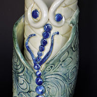Butterfly Vase by Susan James